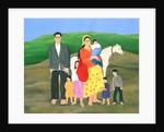 Gipsy Family by Magdolna Ban