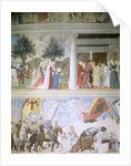 The Queen of Sheba Worshipping the Wood of the True Cross by Piero della Francesca
