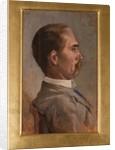 Portrait of Mr Mazzoli by Giovanni Fattori