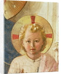 Detail of the Christ Child from the Madonna delle Ombre, 1450 by Fra Angelico