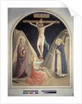 La crucifixion avec Saint Dominique, la Vierge Marie et Sainte Marie Madeleine by Fra Angelico