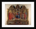 Altarpiece of the Virgin with child and saints - 1437 by Fra (c.1387-1455) Angelico