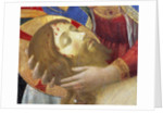 Altarpiece: Deploration or lamentation on the dead Christ by Fra Angelico