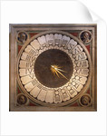 Dial of the clock of the Cathedral Santa maria del Fiore in Florence by Paolo Uccello