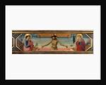 The Christ in the tomb, Predella by Benozzo di Lese di Sandro Gozzoli