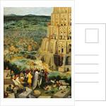 Tower of Babel, 1563 by Pieter the Elder Bruegel