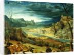 The Return of the Herd, 1565 by Pieter the Elder Bruegel