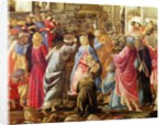 The Adoration of the Kings, c.1470-75 by Sandro Botticelli