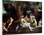 Leda and the Swan by Correggio