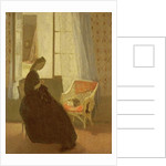 Woman Sewing at a Window by Gwen John