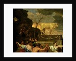 The Adoration of the Golden Calf, before 1634 by Nicolas Poussin