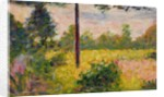 Barbizon Forest by Georges Pierre Seurat