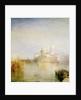 The Dogana and Santa Maria della Salute, Venice, 1843 by Joseph Mallord William Turner