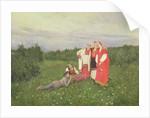 Northern Idyll, 1886 by Konstantin Alekseevich Korovin
