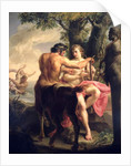 The Education of Achilles by Chiron, 1746 by Pompeo Girolamo Batoni
