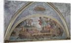 Lunette depicting Ulysses and the Sirens by Annibale Carracci
