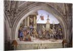 North wall of Strozzi Chapel, The Martyrdom of St. John the Evangelist, c.1457-1502 by Filippino Lippi