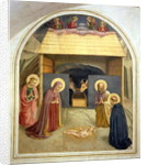 Nativity, with St. Catherine of Alexandria and St. Peter the Martyr, 1442 by Fra Angelico