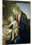 Madonna of the Book c. 1480-81 by Sandro (1444/5-1510) Botticelli