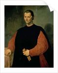 Portrait of Niccolo Machiavelli by Santi di Tito