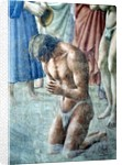 St. Peter Baptising the Neophytes by Tommaso Masaccio