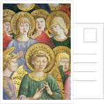Choir of Angels by Benozzo di Lese di Sandro Gozzoli