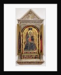 The Linaiuoli Triptych: The Virgin and Child enthroned with St. John the Baptist and St. Mark, 1433 by Fra Angelico