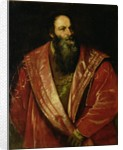 Portrait of Pietro Aretino by Titian