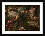 The Flight into Egypt, c.1575-77 by Jacopo Robusti Tintoretto