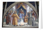The Trial by Fire, St. Francis before the Sultan of Egypt by Domenico Ghirlandaio
