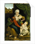 Madonna and Child with St. Anne by Bernardino Luini