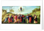 The Assumption of the Virgin by Lorenzo Lotto