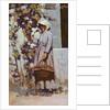 La Paysanne a Grez by Arthur Melville