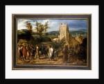 Christ entering Jerusalem, 1551-1600 by Jan van Hemessen