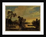 Landscape with Canal, 1643 by Aert van der Neer