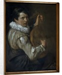The Lute Player by Arie de Vois