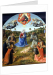 The Adoration of the Child Jesus, 1480s by Cosimo Rosselli