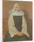 Mother Marie Poussepin c.1915-20 by Gwen John