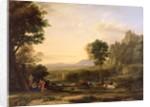 Pastoral Landscape, 1645 by Claude Lorrain