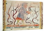 Copy of a medieval original depicting March from the Occupations of the Months by French School