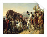 Napoleon Pays Homage to the Courage of the Wounded, 1806 by Jean Baptiste Debret