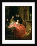 Apres le Bal, 1735 by Jean Francois de Troy