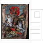 Icon of St George on Horseback Slaying the Dragon by Georgios Klontzas