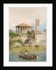 View of the Sbocco della Cloaca Massima, Rome by Ettore Roesler Franz