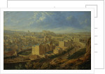 Edinburgh from the Calton Hill by Robert Batty