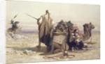 Danger in the Desert, 1867 by Carl Haag