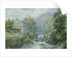 Old Disused Mill, Dolgelly by William Henry Mander