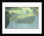 Martha and Mary, first version on the verso of the finished painting, 1896 by Maurice Denis