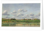 Banks of the Loing, late 1860s by Charles Francois Daubigny