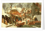 The Adoration of The Magi by Pieter the Younger Brueghel